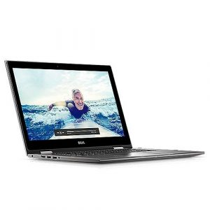 Dell Inspiron 15 5579 39,6 cm (15,6 Zoll FHD) Laptop(Intel Core i7-8550U, 512GB SSD, Intel UHD Graphics 620 with shared graphic memory, Touchscreen, Win 10 Home 64bit German) grau