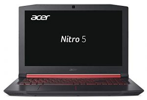 Acer Nitro 5 AN515-51-55VA 39,6 cm (15,6 Zoll Full-HD IPS matt) Gaming Notebook (Intel Core i5-7300HQ, 8GB RAM, 1TB HDD, GeForce GTX 1050 (4GB VRAM), Win 10) schwarz/rot