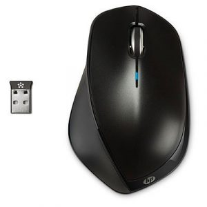 H2W26AA#ABB – X4500 WIRELESS MEBLACK MOUSE HP X4500 Wireless (Metal Black) Mouse