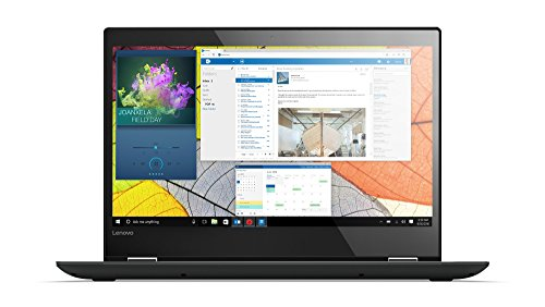 Lenovo Yoga 520 35,6 cm (14,0 Zoll Full HD IPS Touch) Convertible Laptop (Intel Core i5-7200U, 8GB RAM, 256GB SSD, Nvidia GeForce GT 940MX 2GB, Windows 10 Home) schwarz