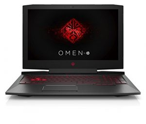 HP Omen 15-ce019ng 39,6 cm (15,6 Zoll Full HD IPS) Gaming Notebook (Intel Core i5-7300HQ, 16GB RAM, 1TB HDD, 128GB SSD, NVIDIA GeForce GTX 1050 4GB, Windows 10 Home 64) schwarz