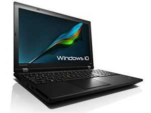 Lenovo ThinkPad L540 Business Notebook # 15.6″ WXGA, Intel Core i5-4300M 2.6GHz , 8GB RAM , 128 GB SSD, WLAN , Webcam, BT, Win10 Profesional (Zertifiziert und Generalüberholt)