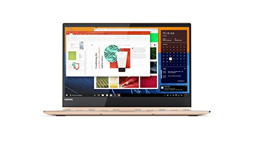 Lenovo Yoga 920 35,3 cm (13,9 Zoll Ultra HD IPS Multi-Touch) Convertible Laptop (Intel Core i7-8550U, 16GB RAM, 1TB SSD, Intel UHD Grafik 620, Windows 10 Home) kupfer