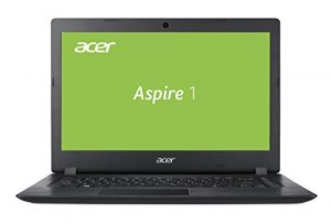 Acer Aspire 1 (A114-31-P9Y1) 35,5 cm (14 Zoll HD matt) Multimedia Laptop (Intel Pentium N4200, 4 GB RAM, 64 GB eMMC, Intel HD, HDMI, Win 10) schwarz