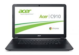 Acer Chromebook C910-354Y 39,6 cm (15,6 Zoll) Full HD Laptop (Intel Core i3-5005U, 4 GB RAM, 32 GB SSD, Intel HD Graphics 5500, Google Chrome OS) schwarz