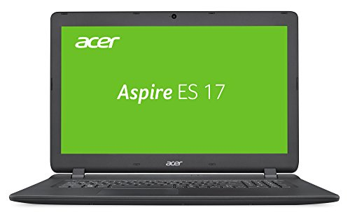 Acer Aspire ES 17 ES1-732-P98P 43,9 cm (17,3 Zoll HD+) Laptop (Intel Pentium N4200, 4GB RAM, 256GB SSD, Intel HD, Win 10) schwarz