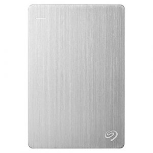 Seagate Backup Plus Ultra Slim Externe Tragbare Festplatte USB 3.0, PC & Mac & PS4 – recertified, Kapazität:2.000GB (2TB), Farbe:Platin (Rescue Edition)