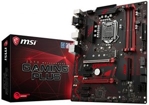 Z370 GAMING PLUS, LGA 1151, VGA, DDR4, 1x Turbo M.2 & 8x USB 3.1 Gen1