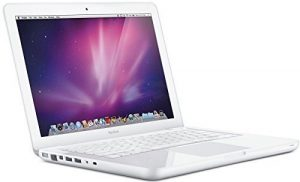 APPLE Macbook A1342 (2010) – 13.3 in Bildschirm – Intel C2D 2.4Ghz – 4GB DDR2 SO-DIMM – 250GB 2.5″ SATA – MAC OS X 10.11 El Capitan – Webcam – Kabellos (Zertifiziert Runderneuert)