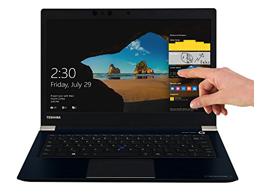 TOSHIBA Portege X30-D-121 Laptop (Intel Core i7-7500U, 33,8cm 13,3Zoll Full-HD entspiegelt, 16GB RAM, 512GB SSD, WLAN, Bluetooth 4.2, Windows 10 Pro) blau