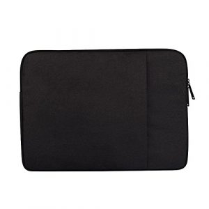 13.3 Zoll Wasserdicht Laptop Sleeve Case Laptophülle Notebook Hülle Tasche für 13″ MacBook Pro Air/13.3″ Samsung Notebook 9 Pro/2017 Microsoft 13.5″ Surface Laptop,Schwarz