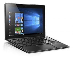 Lenovo Miix 310 25,4 cm (10,1 Zoll Full HD) Tablet-PC (Intel Atom Z8350, 4GB RAM, 64GB eMMC, Windows 10 Home) silber