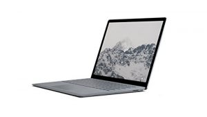 Microsoft Surface Laptop 34,29 cm (13,5 Zoll) Laptop (Intel Core i5, 256GB Festplatte, 8GB RAM, Intel HD Graphics 620, Win 10 S) Platin Grau