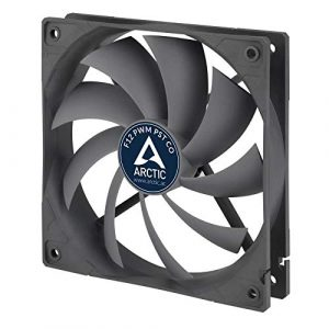 ARCTIC F12 PWM PST CO – 120 mm PWM PST Gehäuselüfter für Dauerbetrieb | Case Fan mit PST-Anschluss (PWM Sharing Technology) + Doppelkugellager | Reguliert RPM synchron