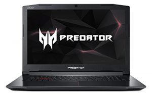 Acer Predator Helios 300 PH317-51-51ZB 43,9 cm (17,3 Zoll Full-HD IPS matt) Gaming Laptop (Intel Core i5-7300HQ, 8GB RAM, 1.000GB HDD, GeForce GTX 1050T (4GB VRAM), Linux) schwarz