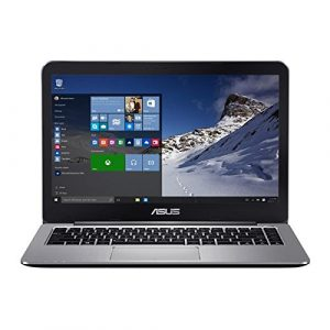 Asus Vivobook E14 E403NA 90NB0DT1-M03780 35,5 cm (14 Zoll Full-HD matt) Notebook (Intel Pentium N4200, 4GB RAM, 64GB EMMC, Intel HD Graphics, Windows 10) grau metall