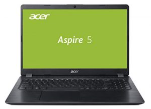 Acer Aspire 5 (A515-52G-52S7) 39,6 cm (15,6 Zoll Full-HD matt) Multimedia Laptop (Intel Core i5-8265U, 4 GB RAM + 16 GB Intel Optane Speicher, 1.000 GB HDD, NVIDIA GeForce MX130, Win 10) schwarz