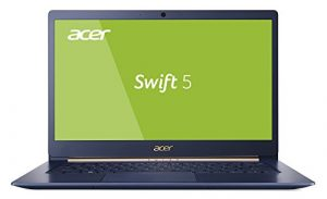 Acer Swift 5 SF514-53T-52FS 35,6 cm (14 Zoll Full-HD IPS Multi-Touch) Ultrabook (Intel Core i5-8265U, 8GB RAM, 256GB PCIe SSD, Intel UHD, Win 10) blau
