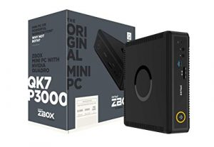 Zotac ZBox QK7P3000 Mini Desktop-PC (Intel Core i7-7700T quad-core, Nvidia Quadro P3000)