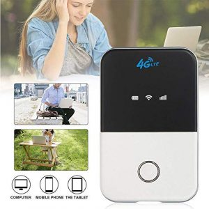 4G CAT3 LTE Mobiler MIFI Router WiFi Wireless Smart Hotspot Modem Breitband Freischalten Tragbare Mini Pocket Travel Unterstützung für Mac/Windows / iOS/Android Support