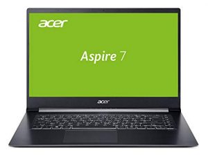 Acer Aspire 7 (A715-73G-749C) 39,6 cm (15,6 Zoll Full-HD IPS matt) Multimedia/Gaming Laptop (Intel Core i7-8705G, 16 GB RAM, 512 GB PCIe SSD, Radeon RX Vega M GL Graphics, Win 10 Home) schwarz