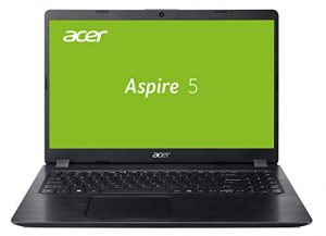 Acer Aspire 5 (A515-52G-770F) 39,6 cm (15,6 Zoll Full-HD IPS matt) Multimedia Laptop (Intel Core i7-8565U, 8 GB RAM, 256 GB SSD + 1.000 GB HDD, NVIDIA GeForce MX150, Win 10 Home) schwarz