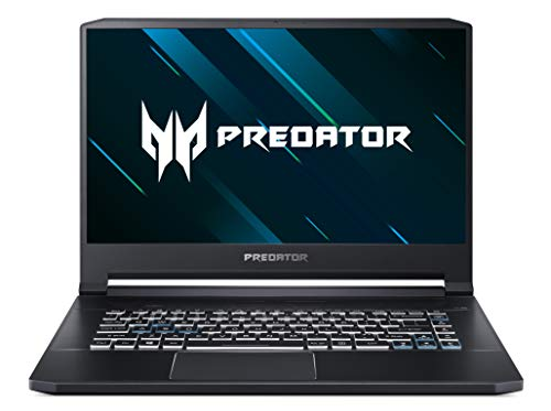 Acer Predator Triton 500 PT515-51-73G6 39,6 cm (15,6 Full-HD IPS matt) Notebook (Intel Core i7-8750H, 16GB RAM, 512GB PCIe SSD, NVIDIA GeForce RTX 2060, Win 10 Home) schwarz