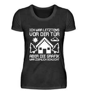 Chorchester Ideal für Gaming Zocker und Nerds – Damenshirt