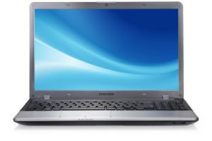 Samsung Serie 3 350V5C S0C 39,6cm (15,6 Zoll) Laptop (Intel Core i7-3610QM, 2,3GHz, 8GB RAM, 750GB HDD, AMD HD 7670M, DVD, Win 8) titansilber