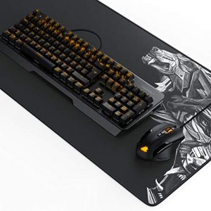 "TITANWOLF Gaming Set – mechanische Tastatur ALUMAR + MMO 10800dpi Gaming Maus ""Specialist"" + XXL Mauspad 