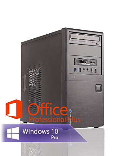 Ankermann Neu Business Office Work PC Intel i5 4570 4x3.20GHz GeForce GT 710 16GB RAM 240GB SSD 1TB HDD Windows 10 PRO W-LAN Office Professional Plus 2016