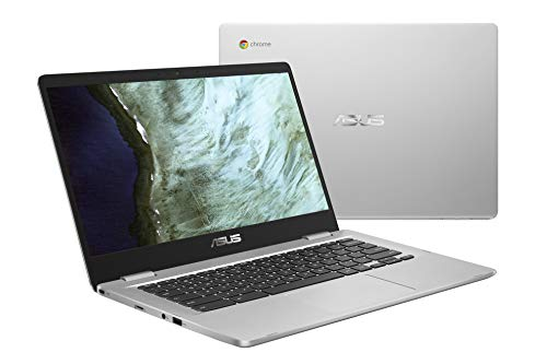 ASUS Chromebook C523NA-DH02 HD NanoEdge Display, 180 Grad, Intel Dual Core Prozessor 14-14.99 inches
