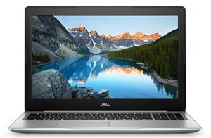 Dell Inspiron 15 5570 39,6 cm (15,6 Zoll FHD) Laptop (Intel Core i7-8550U, 8GB RAM, 256GB SSD, AMD Radeon 530 4G, DVD RW, Windows 10 Home) platin silber