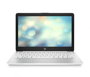HP Stream 11-ak0001ng 29,5 cm (11,6 Zoll HD) Notebook (Intel Celeron N4000, 4GB DDR4 RAM, 32GB eMMC, Intel UHD Grafik, Windows 10 Home) weiss