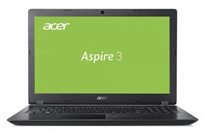 Acer Aspire 3 (A315-21-67GC) 39,6 cm (15,6 Zoll Full-HD matt) Multimedia Laptop (AMD A6-9220e, 4 GB RAM, 256 GB SSD, AMD Radeon R4 Graphics, Win 10 Home) schwarz