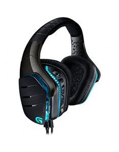Logitech G633 Artemis Spectrum Pro Wired Gaming-Headset (7.1 Dolby Surround Sound für PC, Xbox One und PS4, vollständig anpassbar, Mikrofon mit Rauschunterdrückung, Lightsync RGB) schwarz