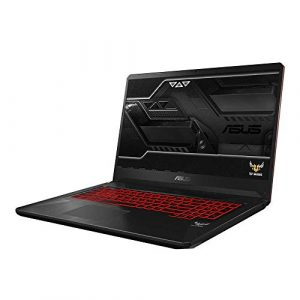 Asus TUF Gaming FX705GM 90NR0122-M02960 43,9 cm (17,3 Zoll Full HD Matt) Gaming Notebook (Intel Core i7-8750H, 16GB RAM, 256GB SSD, 1TB HDD, NVIDIA GeForce GTX 1060 6GB, Win 10 Home) red matter