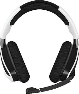 Corsair Void PRO RGB Gaming Headset (PC, USB, Wireless, Surround, Dolby 7.1), Farbe:Weiß (White), Serie:Wireless