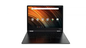 Lenovo Yoga A12 31 cm (12,2 Zoll HD IPS Touch) Convertible Tablet-PC (Intel Z8550, 2GB RAM, 32GB eMMC, Android 6.0) grau