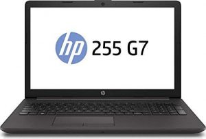 HP Notebook 255 G7 15.6″ AMD A6-9225 Dual Core, 8GB RAM, 256 M.2 GB SSD, AMD Radeon R4, Windows 10 Pro, Schwarz